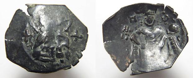 Бронзови монети на Константин Тих