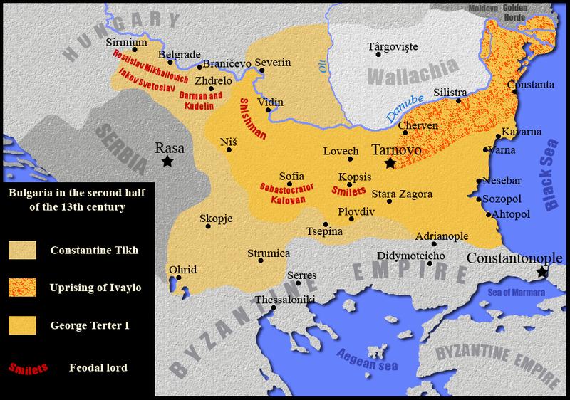 България около 1260 г.