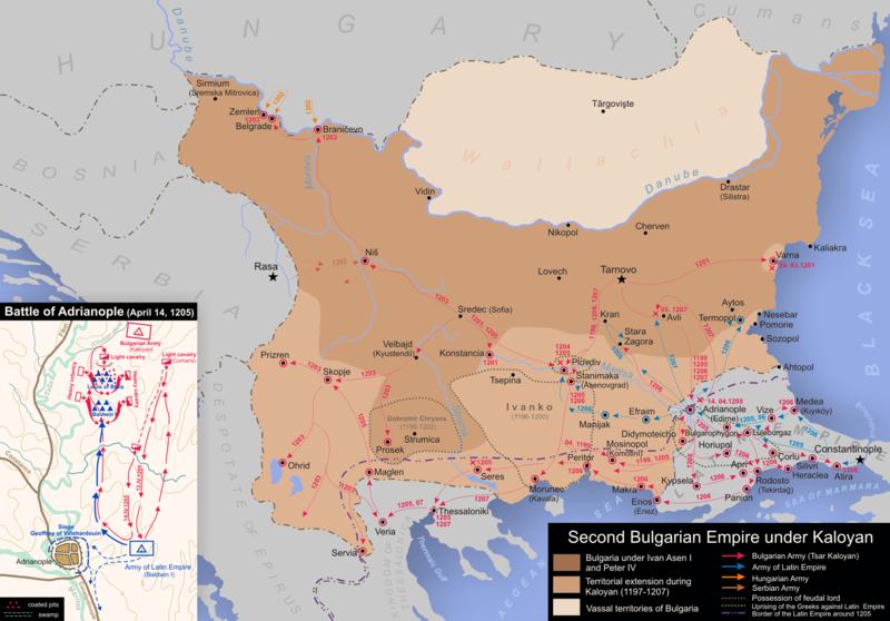 България при управлението на цар Калоян