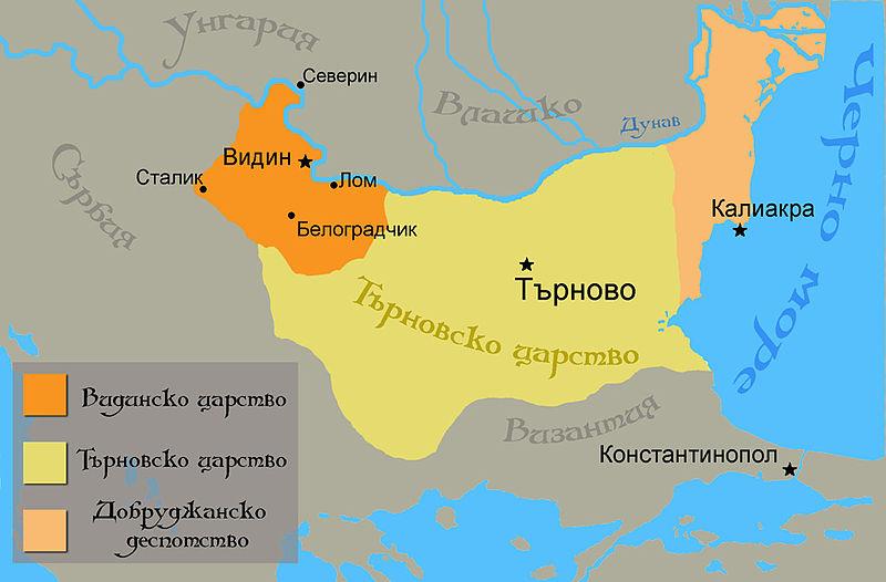 Владенията на Иван Срацимир