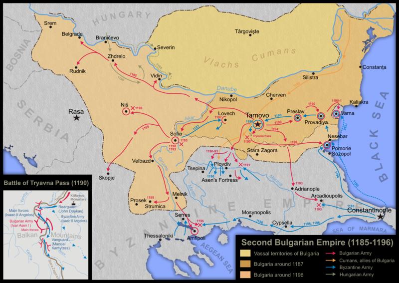 България по времето на Асен и Петър
