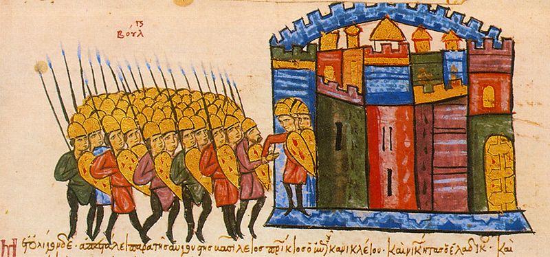 Българите завладяват Одрин
