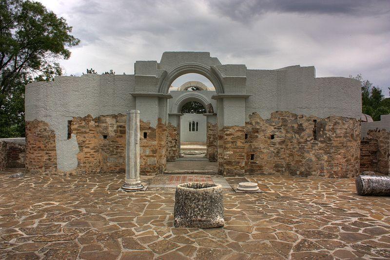 Кръглата църква на цар Симеон във Велики Преслав