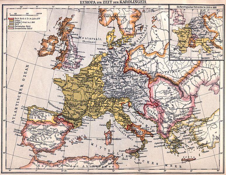 Българското царство и Европа през 814 г.