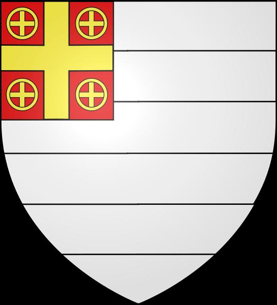 Герб на цар Иван Асен според Гелдернския гербовник около 1370-1395
