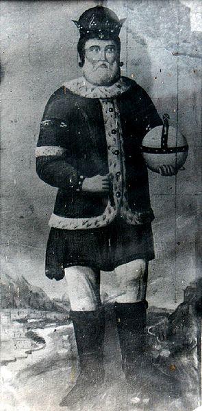 Иван Шишман. Гравюра с неизвестен автор от 19 век, съхранявана в притвора на Преображенския манастир.