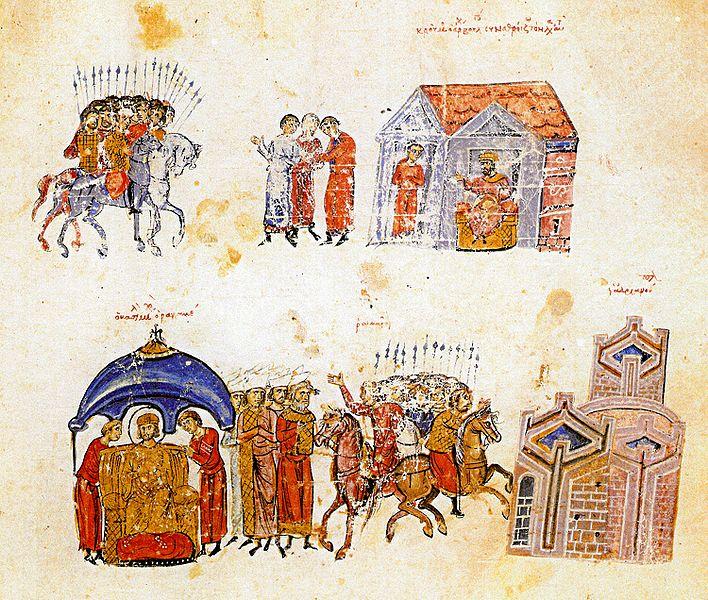 Крум и Михаил I. събират войските си
