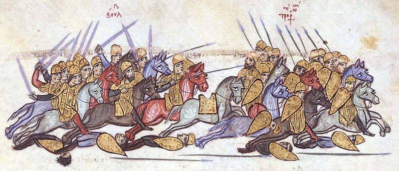 Победата на българите над византийците при Ахелой, 917 година