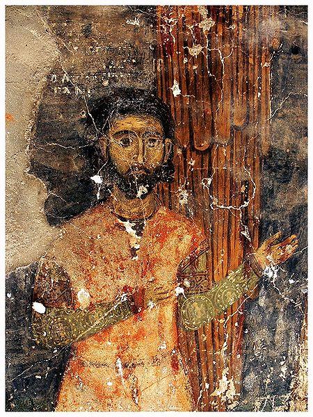 """Портрет от костурската църква""""Свети Архангели Митрополитски"""""""