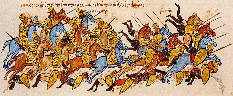 Българите разгромяват византийците при Булгарофигон