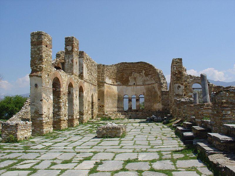 "Самуиловата базилика ""Свети Ахил""."