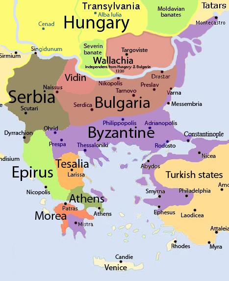 България след войната с Византия - 1307 г.